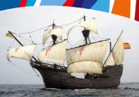 Żaglowiec Ferdynanda Magellana w Świnoujściu (dokładna replika)
