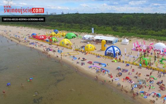 "Miasteczko TVN ""Projekt Plaża"" już w Świnoujściu – FILM"