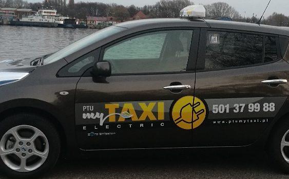 Taksówki z napędem elektrycznym w Świnoujściu
