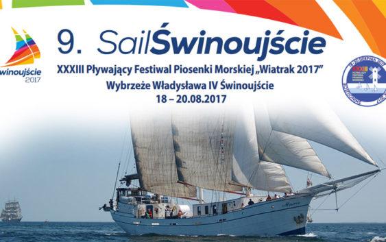 """XXXIII Pływający Festiwal Piosenki Morskiej """"Wiatrak 2017"""""""