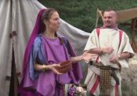 VII Dni Twierdzy w Świnoujściu – Obozowe życie rzymskiego legionu