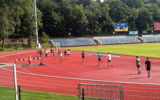 Otwarcie lekkoatletycznej części stadionu w Świnoujściu