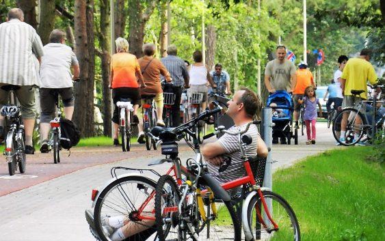 Na trasie Świnoujście-Niemcy. Ponad pół miliona rowerzystów w 4,5 miesiąca!