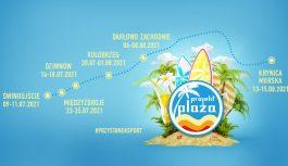 Projekt plaża 2021 w Świnoujściu 09-11.07.2021